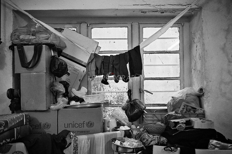 29.1.2015 Kirkuk,Iraq. Najeba's Room .