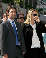 LOS ANGELES - JAN 16:  Donald Trump Jr, Vanessa Trump at the Donald J Trump Star Ceremony on the Hollywood Walk of Fame on January 16, 2007 in Los Angeles, CA