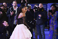 """Karla-Simone Spence<br /> arriving for the """"Blue Story"""" premiere at the Curzon Mayfair, London.<br /> <br /> ©Ash Knotek  D3534 14/11/2019"""