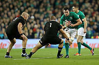Saturday 17th November 2018 | Ireland vs New Zealand<br /> <br /> James Ryan during 2018 Guinness Series between Ireland and Argentina at the Aviva Stadium, Lansdowne Road, Dublin, Ireland. Photo by John Dickson / DICKSONDIGITAL