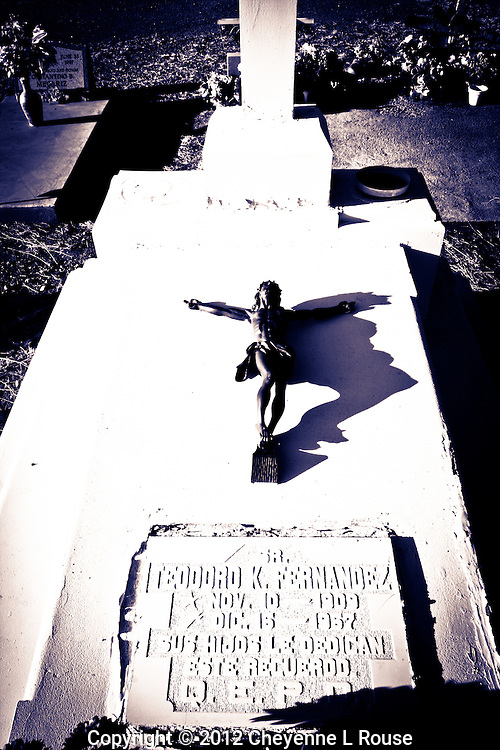 Crucifix - Cemetery - Tubac, Arizona