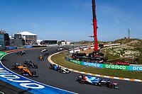 5th September 2021: Circuit Zandvoort, Zandvoort, Netherlands;   31 OCON Esteban fra, Alpine F1 A521 during the Formula 1 Heineken Dutch Grand Prix