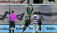Seny Dieng of Queens Park Rangers collects the ball during Queens Park Rangers vs Rotherham United, Sky Bet EFL Championship Football at The Kiyan Prince Foundation Stadium on 24th November 2020