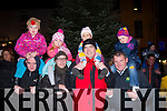 Me and my dad<br /> -------------------<br /> Waiting for Santa to arrive in Killorglin last Sunday evening were L-R Michael&Rebecca O'Sullivan,Michael&Haley Cunningham,Barry&Ummi Clarke and James&Naomi McCormack al from the town.