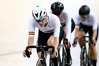 Raquel Sheath competes in the Women Elite Points race 20km during the 2020 Vantage Elite and U19 Track Cycling National Championships at the Avantidrome in Cambridge, New Zealand on Saturday, 25 January 2020. ( Mandatory Photo Credit: Dianne Manson )