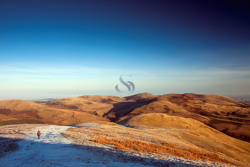 The Pentland Hills from Turnhouse Hill, The Pentland Hills Regional Park, Lothian