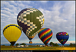 Once the aeronauts start to launch their hot air balloons, things happen pretty fast. I like to show a sense of place and the surroundings. Once the balloons are high in the sky, the shooting is over.<br />
