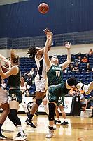 SAN ANTONIO, TX - JANUARY 19, 2019: The University of Texas at San Antonio Roadrunners fall to the University of Alabama at Birmingham Blazers 59-42 at the UTSA Convocation Center. (Photo by Jeff Huehn)