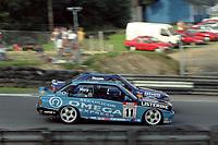 Round 10 of the 1991 British Touring Car Championship. #11 Will Hoy (GB). BMW Team Listerine. BMW M3. #3 Andy Rouse (GBR). Kaliber ICS Team Toyota. Toyota Carina.