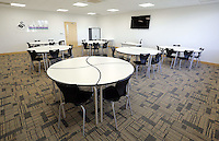 The new Swansea City FC youth academy facilities in Landore, south Wales, UK. Thursday 25 Faberuary 2016