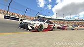 #20: Erik Jones, Joe Gibbs Racing, Toyota Camry<br /> <br /> (MEDIA: EDITORIAL USE ONLY) (This image is from the iRacing computer game)