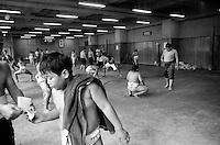 The All Japan Wanpaku Sumo Tournament. Tokyo, Japan.