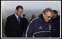 05/01/2002                 Copyright Pic : James Stewart .Ref :     .File Name : stewart-st johnstone v adeen 07.ABDERDEEN MANAGER EBBE SKOVDHALL AND ST JOHNSTNE MANAGER BILLY STARK AT A FOUND BOUND MCDIARMID PARK AFTER REFEREE KENNY CLARK CALLED THE GAME OFF........James Stewart Photo Agency, Stewart House, Stewart Road, Falkirk. FK2 7AS      Vat Reg No. 607 6932 25.Office     : +44 (0)1324 630007     .Mobile  : + 44 (0)7721 416997.Fax         :  +44 (0)1324 630007.E-mail  :  jim@jspa.co.uk.If you require further information then contact Jim Stewart on any of the numbers above.........