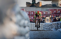 Yannick Peeters (BEL/Crelan-Vastgoedservice)<br /> <br /> Elite Men's Race<br /> Soudal Jaarmarktcross Niel 2016