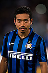 Yuto Nagatomo of FC Internazionale Milano during the AC Milan vs FC Internazionale Milano as part of the International Champions Cup 2015 at the Longgang Stadium on 25 July 2015 in Shenzhen, China. Photo by Aitor Alcalde / Power Sport Images
