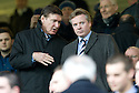 GORDON SMITH AND CRAIG WHYTE IN THE STAND AT IBROX