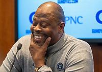 Head coach Patrick Ewing