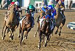 September 20, 2014: Bayern (4, red, white & blue silks), ridden by Martin Garcia, wins the Pennsylvania Derby on Pennsylvania Derby Day at Parx Casino and Racing in Bensalem, Pennsylvania. Scott Serio/ESW/CSM