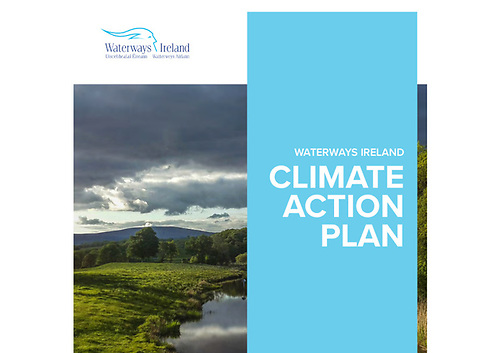 Draft Waterways Ireland Climate Action Plan front cover