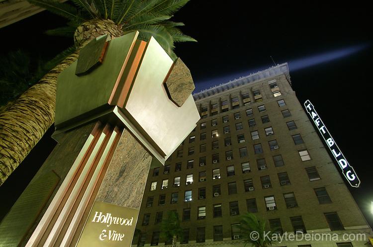 Hollywood & Vine Spotlight, Hollywood, CA