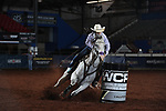 Ari-Anna Flynn during the second round of barrel qualifiers at the WCRA Stampede at the E. Photo by Andy Watson