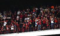 CÚCUTA- COLOMBIA, 26-02-2019:Hinchas del Cucuta Deportivo.Acción de juego entre los equipos Cucuta Deportivo y el Atletico Huila durante partido por la fecha 7 de la Liga Águila I  2019 jugado en el estadio General Santander de la ciudad de Cúcuta . /Fans of Cucuta Deportivo. Action game between Cucuta Deportivo and Atletico Huila during the match for the date 7 of the Liga Aguila I 2019 played at the General Santander  stadium in Cucuta  city. Photo: VizzorImage / Manuel Hernández  / Contribuidor