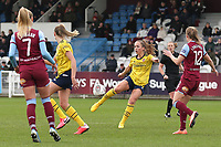 Lia Walti of Arsenal during West Ham United Women vs Arsenal Women, Women's FA Cup Football at Rush Green Stadium on 26th January 2020