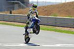 FIM CEV REPSOL in Navarra during the Spanish Championship 2014.<br /> Los Arcos, navarra, spain<br /> September 07, 2014. <br /> Moto3<br /> nicola bulega<br /> PHOTOCALL3000/ RME