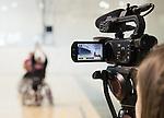 Toronto 2015.<br /> Parapan Am hopefuls meet with the media in preparation for 2015 Parapan Am game at the Toronto Pan Am Sports Centre // Les espoirs parapanaméricains rencontrent les médias en vue du match parapanaméricain 2015 au Centre sportif panaméricain de Toronto. 23/03/2015.