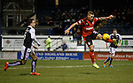Martyn Waghorn thunders into the box