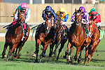 November 3, 2018: Enable #2, ridden by Frankie Dettori, wins the Longines Breeders' Cup Turf on Breeders' Cup World Championship Saturday at Churchill Downs on November 3, 2018 in Louisville, Kentucky. Wendy Wooley/Eclipse Sportswire/CSM