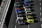 #51: Kyle Busch, Kyle Busch Motorsports, Toyota Tundra Cessna  and #88: Matt Crafton, ThorSport Racing, Ford F-150 Ideal Door/Menards
