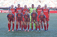 Portland, OR - Saturday July 22, 2017: Portland Thorns FC starting 11 before a regular season National Women's Soccer League (NWSL) match between the Portland Thorns FC and the Washington Spirit at Providence Park.
