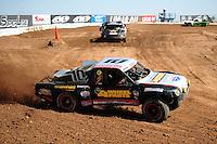 Mar. 18, 2011; Chandler, AZ, USA;  LOORRS pro 2 unlimited driver Greg Adler during qualifying for round one at Firebird International Raceway. Mandatory Credit: Mark J. Rebilas-