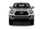 Car photography straight front view of a 2018 Toyota Tacoma SR5 Access Cab 4 Door Pick Up