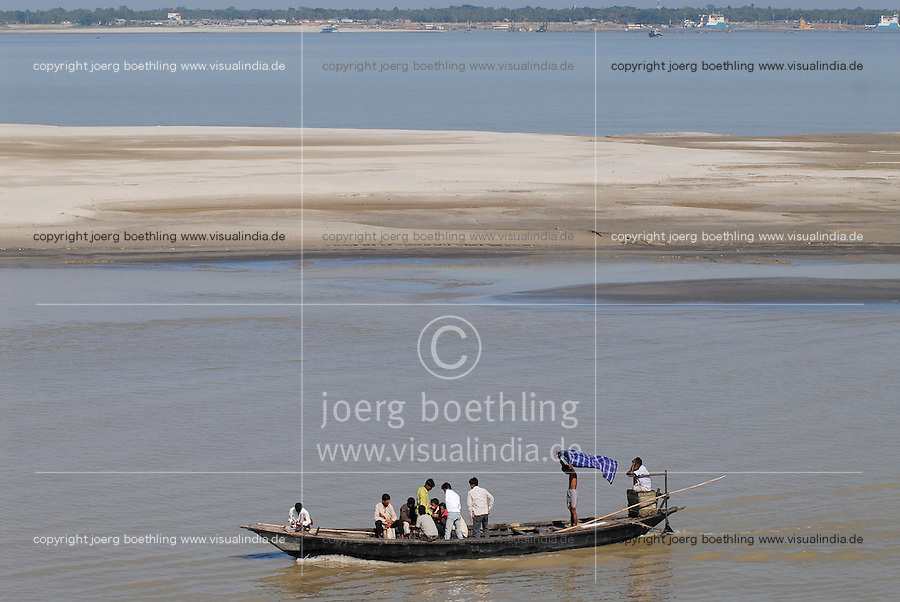 "Asien Suedasien Bangladesh , Boote auf dem Fluss Ganges , heisst in Bangladesh Padma  -  Transport xagndaz | .South asia Bangladesh , boat at river Padma .| [ copyright (c) Joerg Boethling / agenda , Veroeffentlichung nur gegen Honorar und Belegexemplar an / publication only with royalties and copy to:  agenda PG   Rothestr. 66   Germany D-22765 Hamburg   ph. ++49 40 391 907 14   e-mail: boethling@agenda-fototext.de   www.agenda-fototext.de   Bank: Hamburger Sparkasse  BLZ 200 505 50  Kto. 1281 120 178   IBAN: DE96 2005 0550 1281 1201 78   BIC: ""HASPDEHH"" ,  WEITERE MOTIVE ZU DIESEM THEMA SIND VORHANDEN!! MORE PICTURES ON THIS SUBJECT AVAILABLE!!  ] [#0,26,121#]"