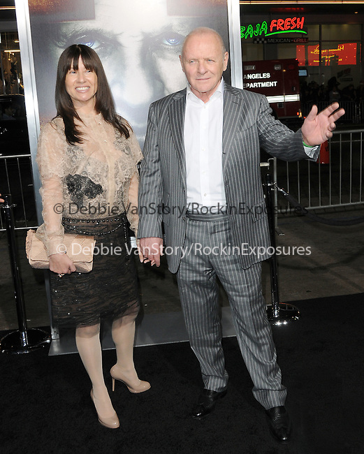 Anthony Hopkins at The Warner Bros. Pictures' World Premiere of The Rite held at The Grauman's Chinese Theatre in Hollywood, California on January 26,2011                                                                               © 2010 DVS/Hollywood Press Agency