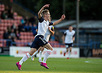 Bolton Wanderers' Ronan Darcy celebrates scoring his side's first goal <br /> <br /> Photographer Andrew Kearns/CameraSport<br /> <br /> The Carabao Cup First Round - Rochdale v Bolton Wanderers - Tuesday 13th August 2019 - Spotland Stadium - Rochdale<br />  <br /> World Copyright © 2019 CameraSport. All rights reserved. 43 Linden Ave. Countesthorpe. Leicester. England. LE8 5PG - Tel: +44 (0) 116 277 4147 - admin@camerasport.com - www.camerasport.com