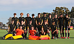 Wellington Team Photo. Men's U18 Hockey Nationals, Gallagher Hockey Centre, Hamilton. Sunday 11 July 2021. Photo: Simon Watts/www.bwmedia.co.nz
