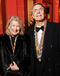 Gayle and Lloyd Bentsen III at the Mardi Gras Ball at the Tremont House in Galveston Saturday Feb. 13,2010.(Dave Rossman Photo)