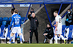 St Johnstone v Hamilton Accies…30.12.20   McDiarmid Park     SPFL<br />Accies boss Brian Rice<br />Picture by Graeme Hart.<br />Copyright Perthshire Picture Agency<br />Tel: 01738 623350  Mobile: 07990 594431