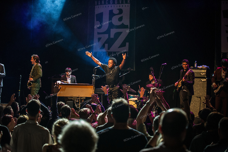 Lee Fields and the Expressions at the Vogue Theatre, June 24, 2013 in the TD Vancouver International Jazz Festival