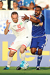 AL NASR (UAE) vs LOKOMOTIV (UZB) during the 2016 AFC Champions League Group A Match Day 5 match at Al Maktoum Stadium on 20 April 2016 in Dubai, United Arab Emirates.
