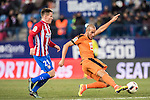 Alejandro Galvez Jimena of SD Eibar in action during their Copa del Rey 2016-17 Quarter-final match between Atletico de Madrid and SD Eibar at the Vicente Calderón Stadium on 19 January 2017 in Madrid, Spain. Photo by Diego Gonzalez Souto / Power Sport Images