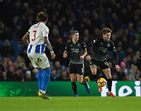 Burnley's Jeff Hendrick (right) <br /> <br /> Photographer David Horton/CameraSport<br /> <br /> The Premier League - Brighton and Hove Albion v Burnley - Saturday 9th February 2019 - The Amex Stadium - Brighton<br /> <br /> World Copyright © 2019 CameraSport. All rights reserved. 43 Linden Ave. Countesthorpe. Leicester. England. LE8 5PG - Tel: +44 (0) 116 277 4147 - admin@camerasport.com - www.camerasport.com