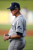 April 15, 2009:  Manager Jim Morrison of the Charlotte Stone Crabs, Florida State League Class-A affiliate of the Tampa Rays, during a game at Tradition Field in St. Lucie, FL.  Photo by:  Mike Janes/Four Seam Images