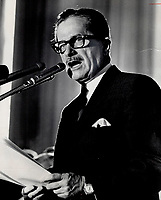 1966 FILE <br /> <br /> Quebec Premier Daniel Johnson<br /> <br /> PHOTO :  Dick Darrell - Toronto Star Archives - AQP