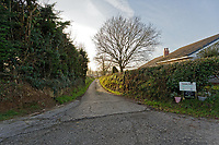 "Pictured: The entrance to the diary farm owned by David Aeron Owens in St Clears, Wales, UK. Wednesday 05 February 2020<br /> Re: Dyfed-Powys Police has become the first police force in the UK to use DNA evidence from a stolen cow in a criminal court case.<br /> The force used DNA from a £3,000 heifer, which had been retagged by a neighbouring farmer after escaping from a field, to prove it had been stolen.<br /> The blood samples were compared against cows on the victim's farm to prove a familial link and secure a conviction.<br /> David Aeron Owens, of Salem Road, St Clears, pleaded guilty to theft at Swansea Crown Court on Monday, February 3.<br /> PC Gareth Jones, officer in case, said: ""This has been a long and protracted enquiry, and it has taken a lot of work and patience to get to this point.<br /> ""Without the use of the heifer's DNA we would not have been able to prove that it had been stolen by Mr Owens, and that he had tried to alter identification tags to evade prosecution.<br /> ""We are proud to be the first force in the UK to use a cow's DNA in a criminal case, and will continue to use innovative methods to get justice for victims.""<br /> The investigation started in December 2017, when a farmer in St Clears reported the theft of one of his 300 cows which had escaped from his field four months earlier.<br /> Mr Owens had denied the missing animal was on his land, but the victim recognised it among the herd.<br /> PC Jones visited the farm and was handed a cow passport, listing ear tag numbers for the cow in question and the animal Mr Owens alleged was its mother.<br /> PC Jones applied for a warrant to seize the stolen cow, which was separated from the herd and had blood samples taken for DNA comparison."