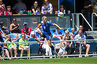 San Jose, California - May 10, 2015: The USWNT defeated Ireland 3-0 during an international friendly game at Avaya Stadium.