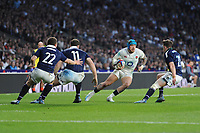 Jack Nowell of England in action during the RBS 6 Nations match between England and Scotland at Twickenham Stadium on Saturday 11th March 2017 (Photo by Rob Munro/Stewart Communications)